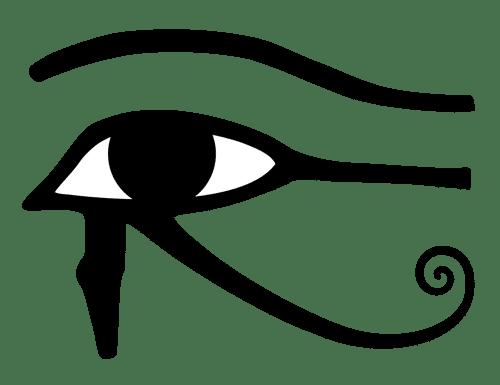 œil d'horus amulette oudjat
