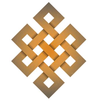 talisman magique - noeud infini ou noeud sans fin