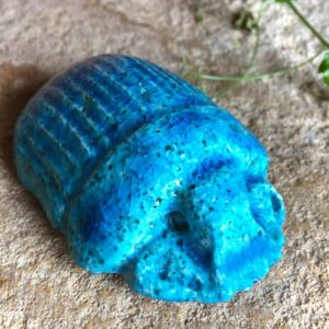 scarabée égyptien céramique terre égyptienne
