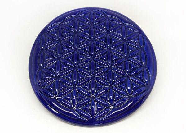 Achat fleur de vie - propriétés de la fleur de vie en céramique