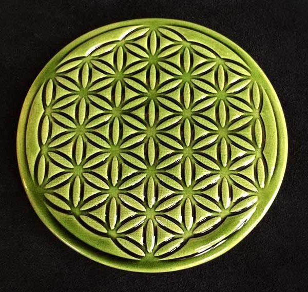 bénéfices de la fleur de vie en céramique