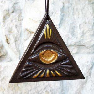"""Achat Amulette de protection """"Oeil de la Providence"""""""