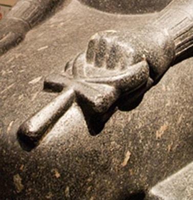 croix de vie egyptienne ou clé de vie Ankh