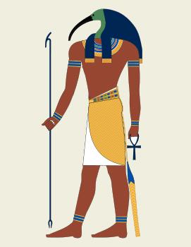 Thot, le patron des magiciens et des scribes