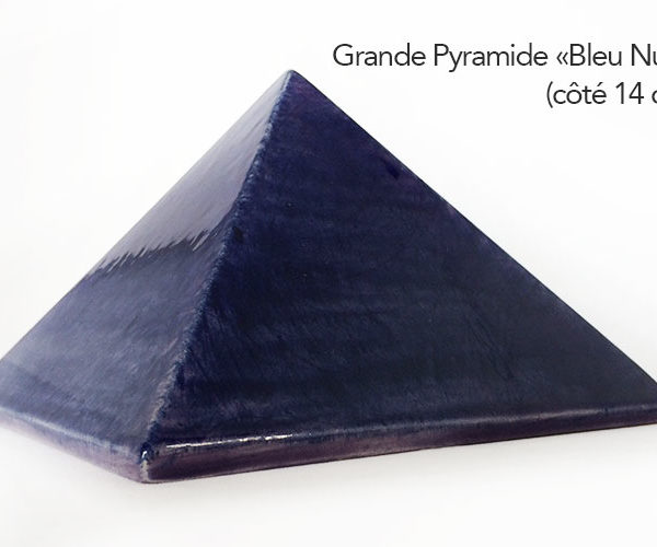 Achat pyramide souhaits - Pyramide énergétique en céramique - Pyramide énergétique (côté 14 cm)