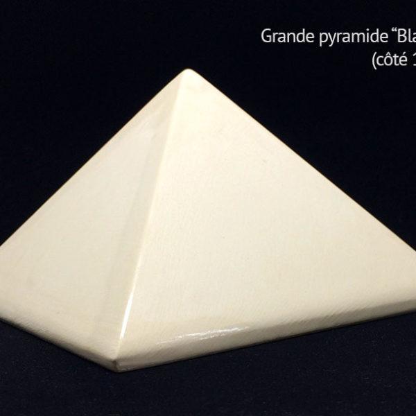 Achat Pyramide énergétique en céramique - Pyramide énergétique (côté 14 cm)