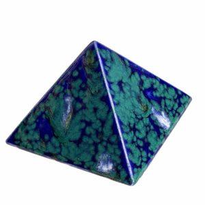 """Achat pyramide - pyramide énergétique en céramique (côté 9 cm) - """"Magic Garden"""""""