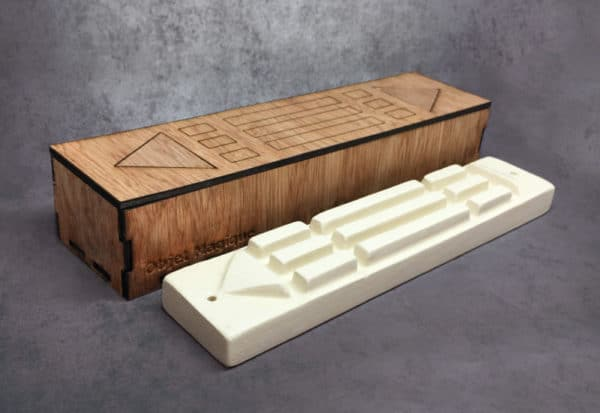 barre Atlante ou bague atlante céramique