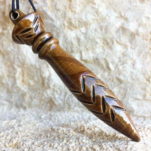 Achat pendule de thot - Pendule égyptien de Thoth - Brun Marbré