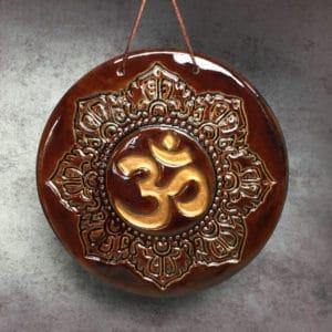 symbole Om ou AUM représentation d'un symbole hidouiste et bouddhiste sacré