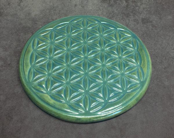 fleur de vie - propriétés de la fleur de vie en céramique, géométrie sacrée