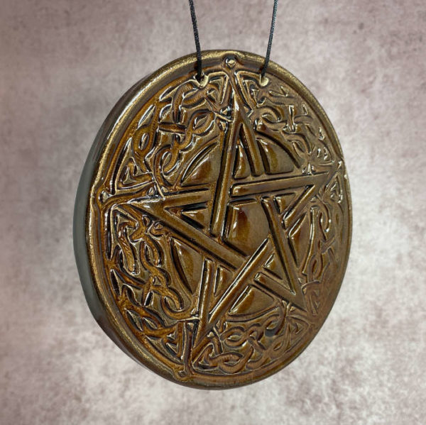pentacle de protection celtique