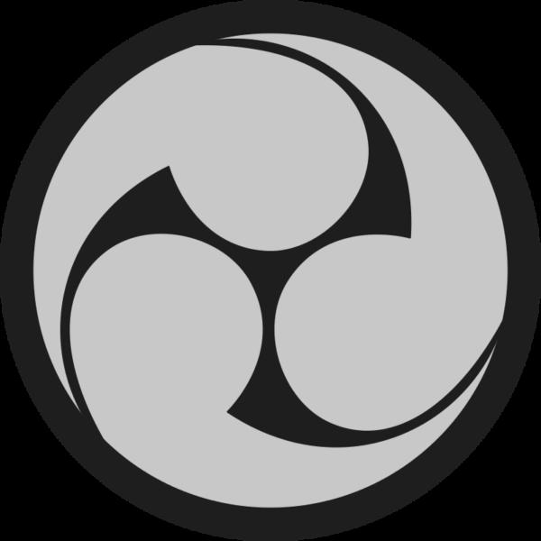 triskel celtique, version asiatique tomoe japonais