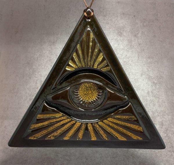 """Amulette de protection """"Oeil de la Providence"""""""